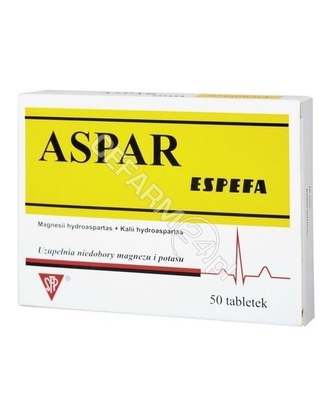 ESPEFA Aspar espefa x 50 tabl