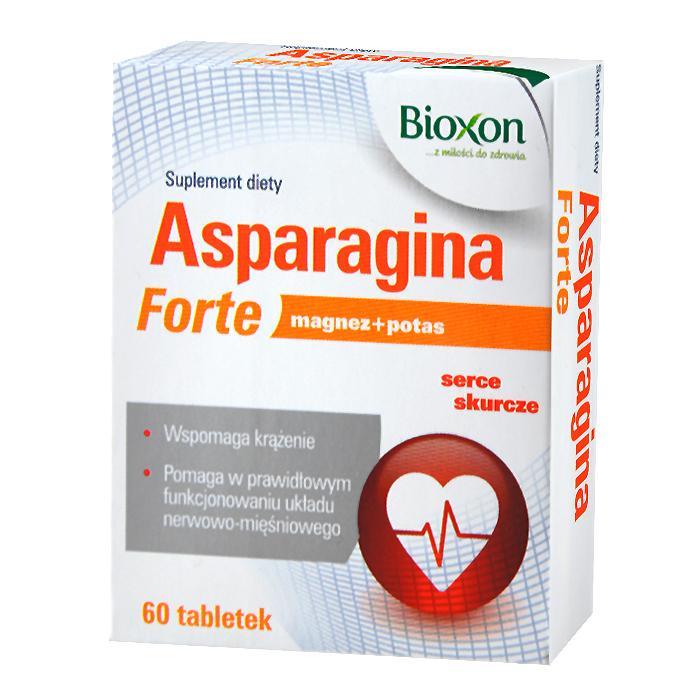 BIOXON Asparagina Forte, 60 tabletek