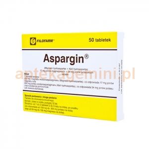 FILOFARM F.S.P. Aspargin 50 tabletek