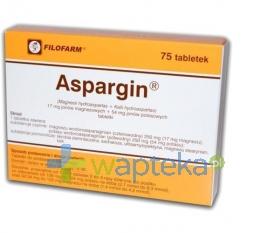 FILOFARM F.S.P. Aspargin 75 tabletek