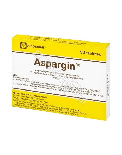 FILOFARM Aspargin x 50 tabl (filofarm)
