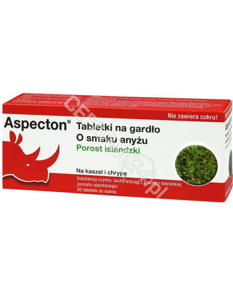 KREWEL MEUSE Aspecton tabletki na gardło o smaku anyżu x 30 tabl