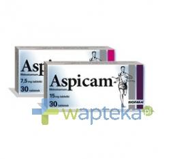 BIOFARM SP.Z O.O. Aspicam 15 mg tabletek 20 sztuk