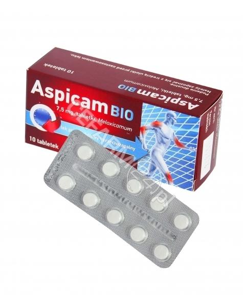 BIOFARM Aspicam Bio 7,5 mg x 10 tabl