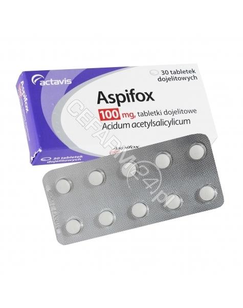 ACTAVIS Aspifox 100 mg x 30 tabl dojelitowych