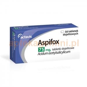 ACTAVIS Aspifox 75mg, 56 tabletek