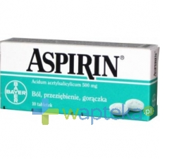 BAYER SP. Z O.O. Aspirin 500 mg 10 tabletek