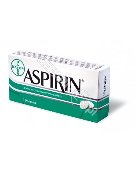 BAYER Aspirin 500 mg x 10 tabl - dostępne ostatnie sztuki