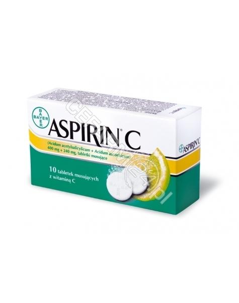 BAYER Aspirin c x 10 tabl musujących
