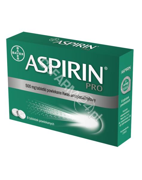 BAYER Aspirin pro 500 mg x 8 tabl powlekanych