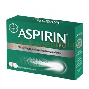 BAYER Aspirin Pro 500mg, 8 tabletek