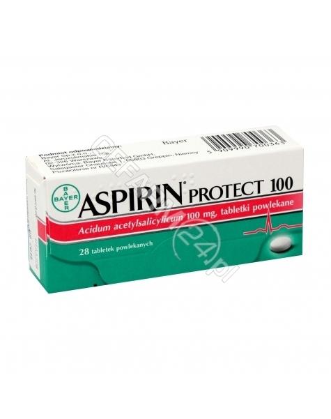 BAYER Aspirin protect ( cardio ) 100 mg x 28 tabl powlekanych