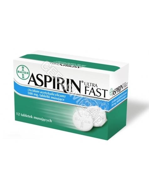 BAYER Aspirin Ultra Fast x 12 tabl musujących