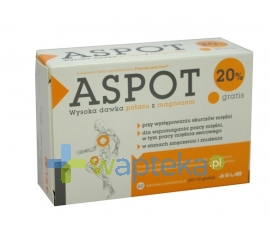 S-LAB SP. Z O. O. ASPOT 60 tabletek