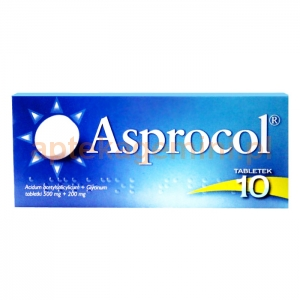 ICN POLFA RZESZÓW Asprocol, 10 tabletek OKAZJA
