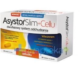 AFLOFARM FARMACJA POLSKA SP. Z O.O. Asystor Slim Cellu 60 tabletek