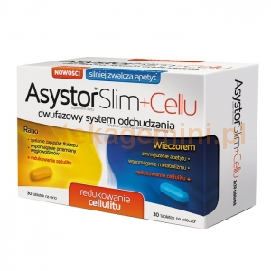Aflofarm Asystor Slim+Cellu, 30+30 tabletek OKAZJA