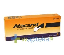 ASTRAZENECA AB Atacand tabletki 8 mg 14 sztuk