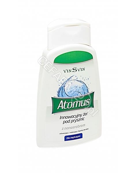 VINSVIN Atomus żel pod prysznic z nanosrebrem dla mężczyzn 250 ml
