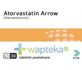 ARROW POLAND S.A. Atorvastatin Arrow 10mg 30 tabletek