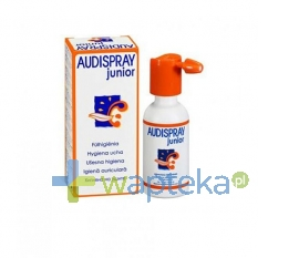 LAB.DIEPHARMEX Audispray Junior do higieny uszu aerozol 25ml
