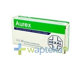 HEXAL POLSKA SP. Z O.O. Aurex 20 tabletki powlekane 20 mg 20 sztuk
