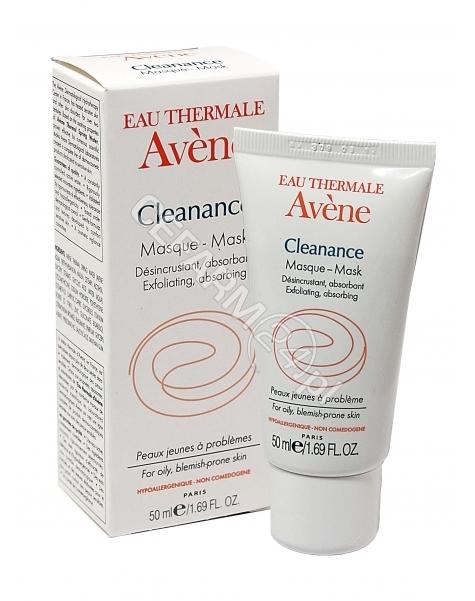 AVENE Avene Cleanance maseczka oczyszczająco-złuszczająca do skóry tłustej 40 ml (data ważności 31.08.2016)