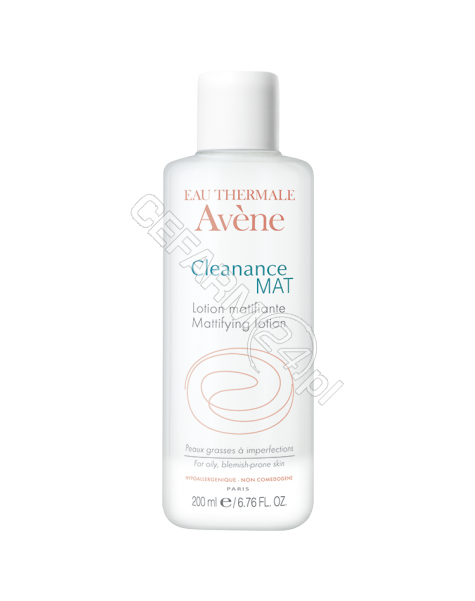 AVENE Avene Cleanance Mat tonik matujący do skóry tłustej lub trądzikowej 200 ml