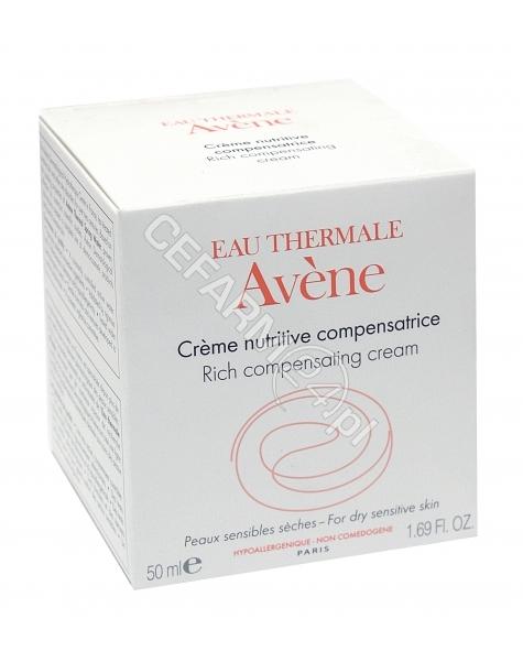 AVENE Avene creme nutrive compensatrice krem odżywczy do skóry wrażliwej suchej 50 ml