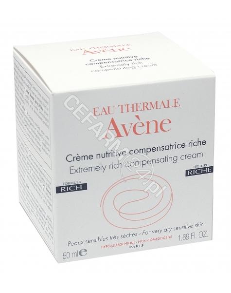 AVENE Avene creme nutrive compensatrice riche krem odżywczy do skóry wrażliwej bardzo suchej 50 ml