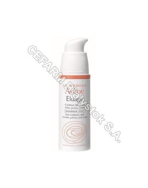 AVENE Avene eluage contour des yeux - krem przeciwzmarszczkowy pod oczy 15 ml