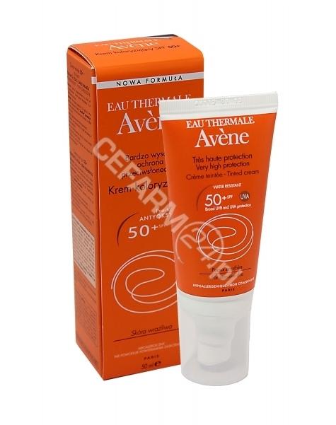 AVENE Avene krem koloryzujący z bardzo wysoką ochroną przeciwsłoneczną spf50+ 50 ml