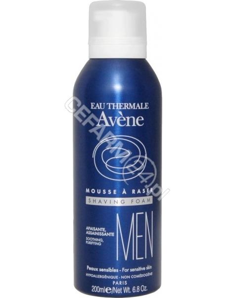 AVENE Avene Men pianka do golenia do skóry wrażliwej 200 ml