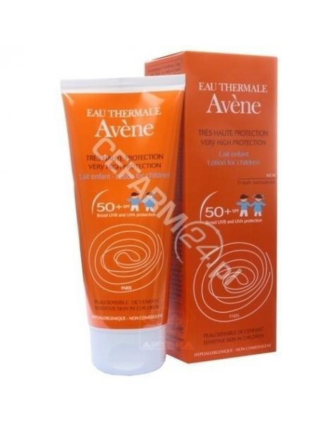 AVENE Avene mleczko dla dzieci z bardzo wysoką ochroną przeciwsłoneczną spf 50+ 100 ml