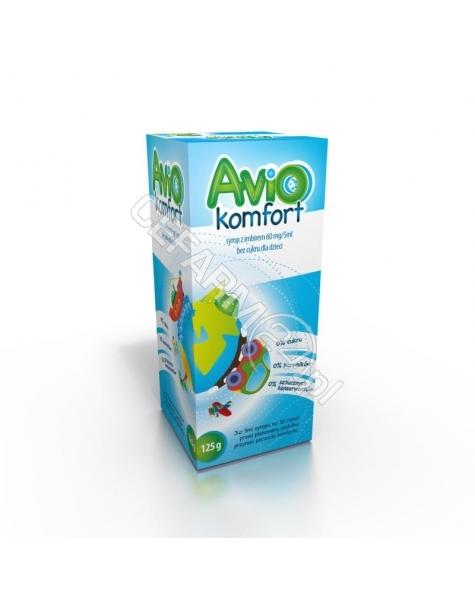 GEMI Aviokomfort syrop z imbirem bez cukru dla dzieci 100 ml