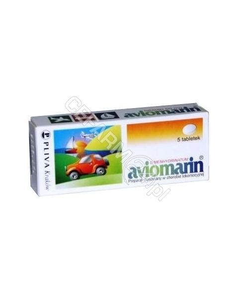 TEVA KUTNO Aviomarin 50 mg x 5 tabl