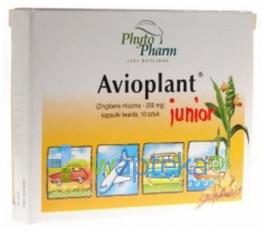 PHYTOPHARM KLĘKA S.A. Avioplant Junior 10 kapsułek