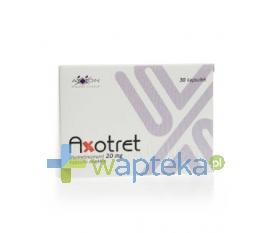 AXXON SP. Z O.O. Axotret 20 mg kapsułki miękkie 30 sztuk