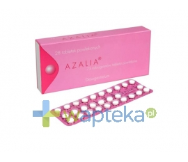 GEDEON RICHTER POLSKA SP.Z O.O. Azalia 75 mcg tabletki powlekane 28 sztuk