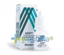 ALCON POLSKA SP. Z O.O. Azopt 1% (10 mg / ml) krople do oczu 5 ml