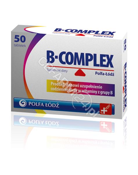 POLFA ŁÓDŹ B-complex polfa łódź x 50 tabl