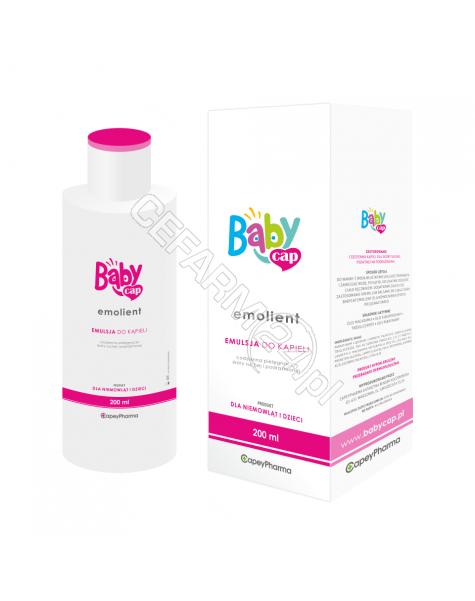 CAPEYPHARMA Babycap emolient emulsja do kąpieli 200 ml