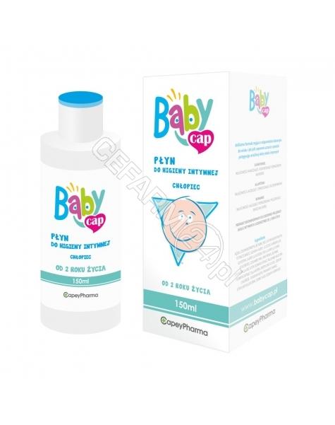 CAPEYPHARMA Babycap płyn do higieny intymnej CHŁOPIEC 150 ml