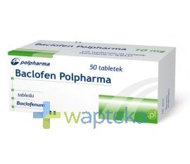 ZAKŁADY FARM. Baclofen tabletki 10 mg 50 sztuk
