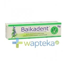 HERBAPOL-WROCLAW S.A. Baikadent żel do jamy ustnej 15 g