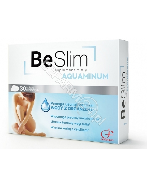 COLFARM Be slim aquaminum x 30 tabl