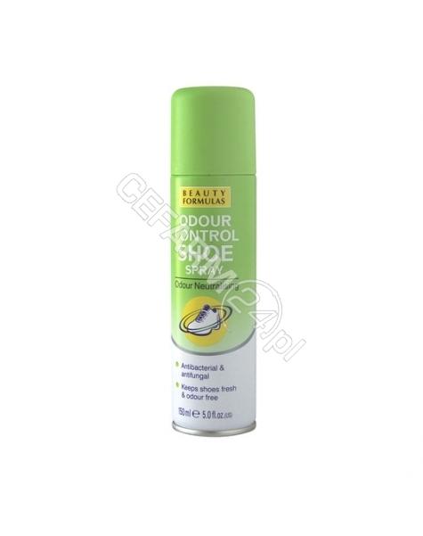 BEAUTY FORMULAS Beauty formulas dezodorant do butów antybakteryjny i przeciwgrzybiczy 150 ml