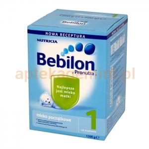NUTRICIA Bebilon 1 z Pronutra, mleko początkowe, od urodzenia, 1200g
