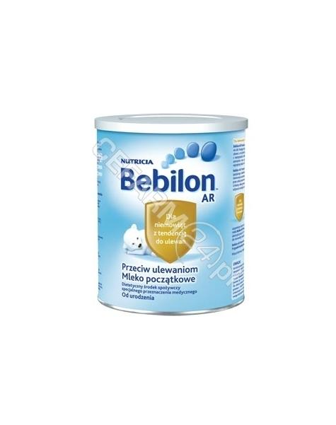 NUTRICIA Bebilon ar 400 g od urodzenia przeciw ulewaniom