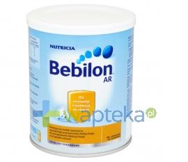 NUTRICIA POLSKA SP. Z O.O. Bebilon AR puszka 400 g